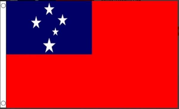 Vlag Samoa 60x90cm