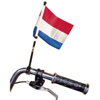 Fietsvlag Nederlandse vlag 15x20cm voor op je fiets of brommer