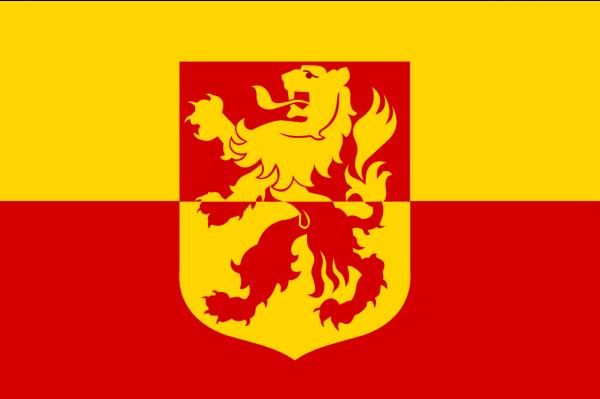 Grote vlag Alblasserdam
