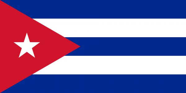 Vlag Cuba 100x150cm Glanspoly