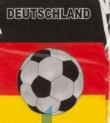 Vlaggenlijn Duitsland met voetbal 10m