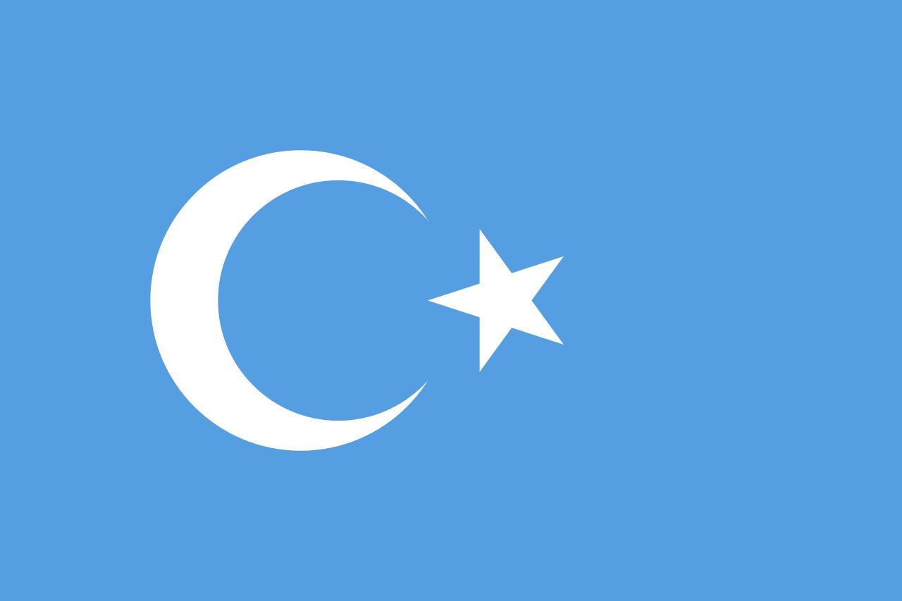 Vlag Oeigoeren