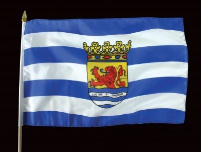 Zwaaivlag Zeeland Zeeuwse Zwaaivlaggetjes 30x45cm
