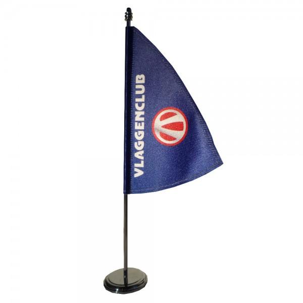 Tafelvlaggen type zeil met uw reclame bedrukken Tafelvlag