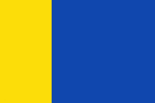 Grote vlag Uden