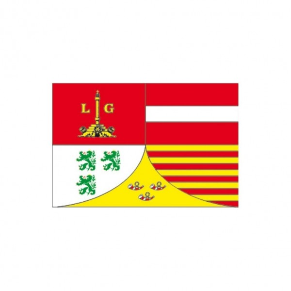 Tafelvlag Luik 10x15 cm