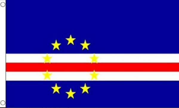 Vlag Kaapverdië Kaapverdische vlaggen 90x150cm Best Value