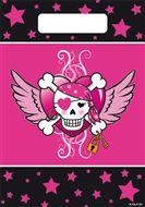 Uitdeelzakjes Pirate Girl 8 stuks