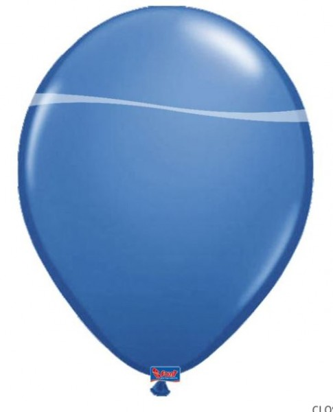 ballon donkerblauw 10 stuks 30 cm groot 12 inch
