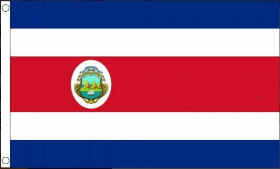 vlag Costa Rica   Costa Ricaanse vlaggen 60x90cm Best Value