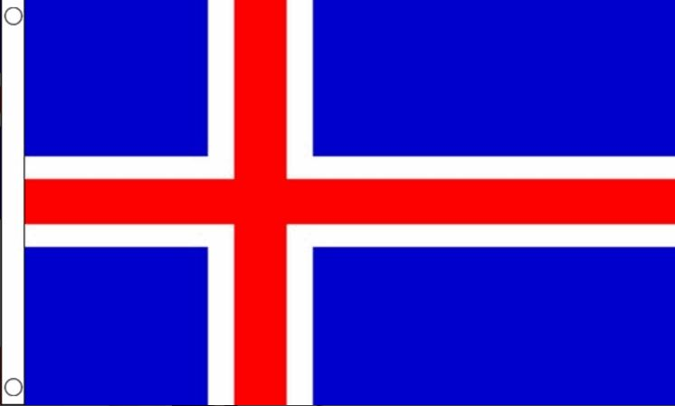vlag IJsland IJslandse vlaggen 150x240cm Best Value