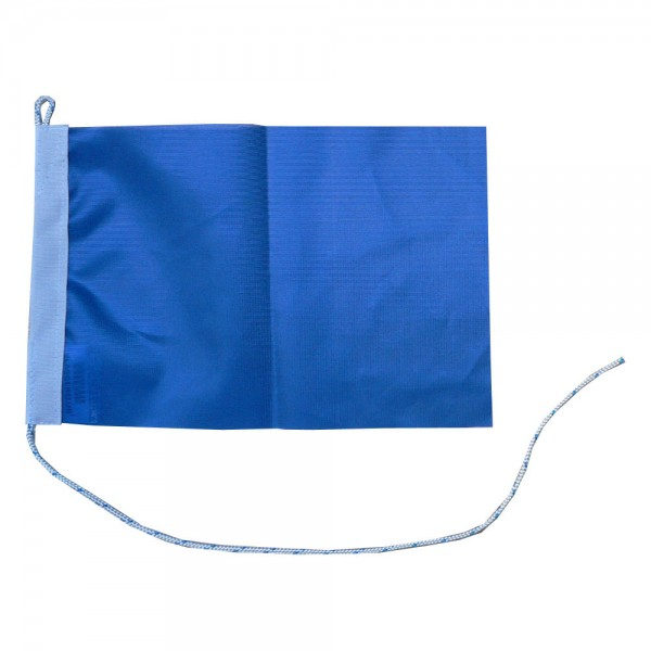 Blauwe vlag 30x45cm