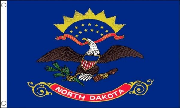 Vlag North Dakota