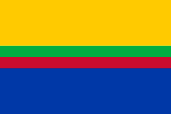 Vlag gemeente Appingedam 100x150cm Appingedammer vlag