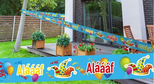 Carnaval markeerlint Alaaf 15 meter