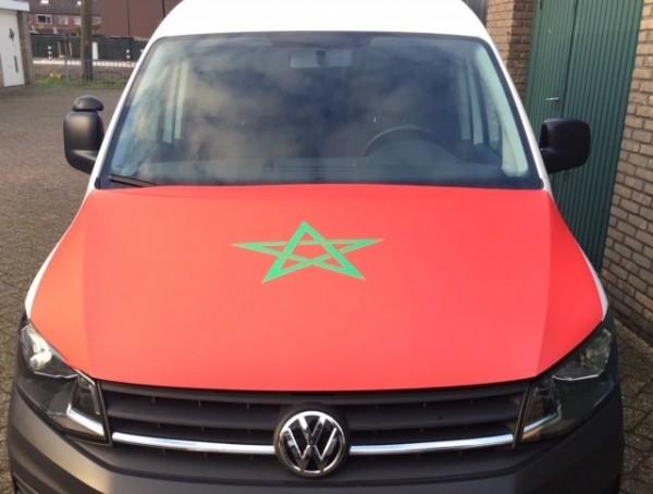 Motorkap hoes Marokko