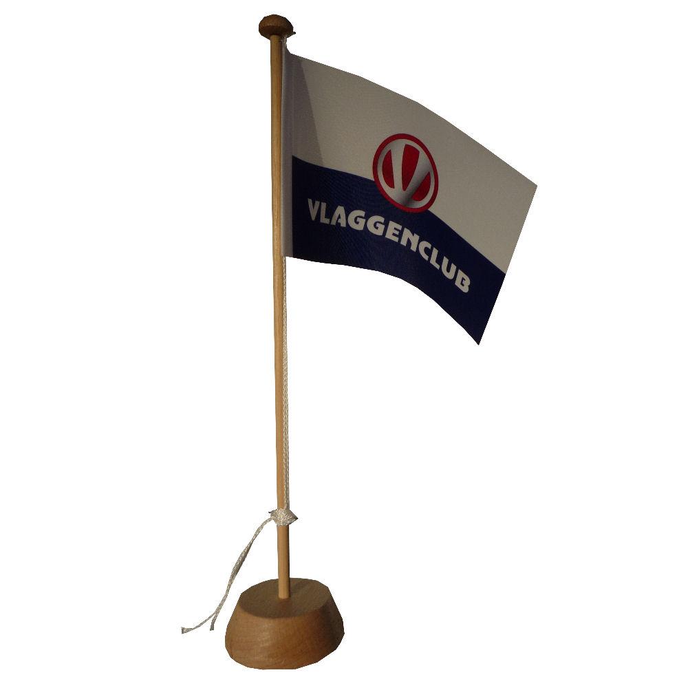 Tafelvlaggetje wit blanco 10x15cm kopen bij Vlaggenclub