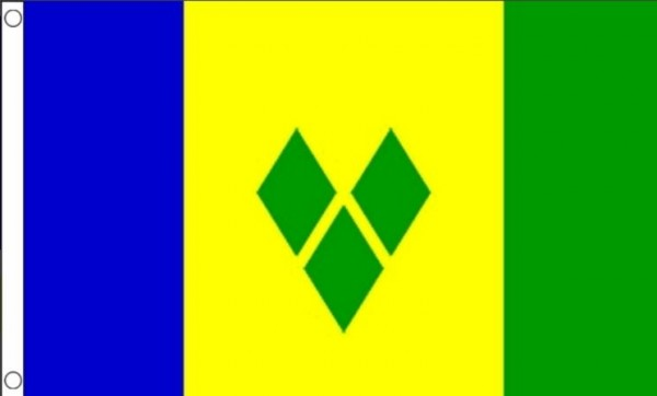 vlag saint vincent en de grenadines 90x150cm best value