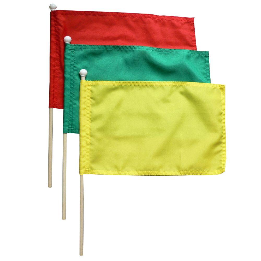 zwaaivlag groen groene zwaaivlaggen 20x30cm