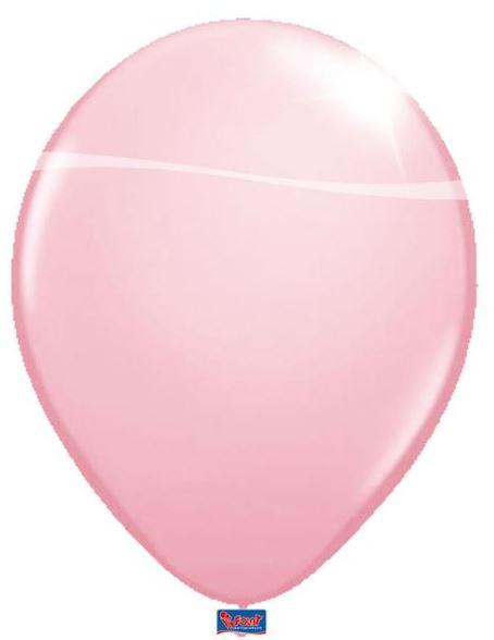 Roze Metallic Ballonnen 10 stuks