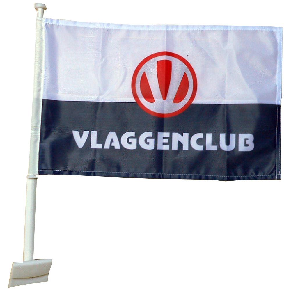 Luxe autovlag met uw trouwvlag voorbeeld
