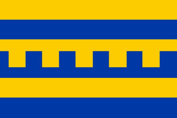 mastvlag Harderwijk 150x225cm