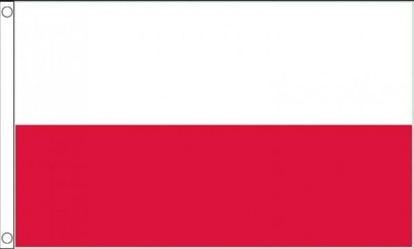 Vlag Polen Poolse Vlaggen 150x240cm Best Value