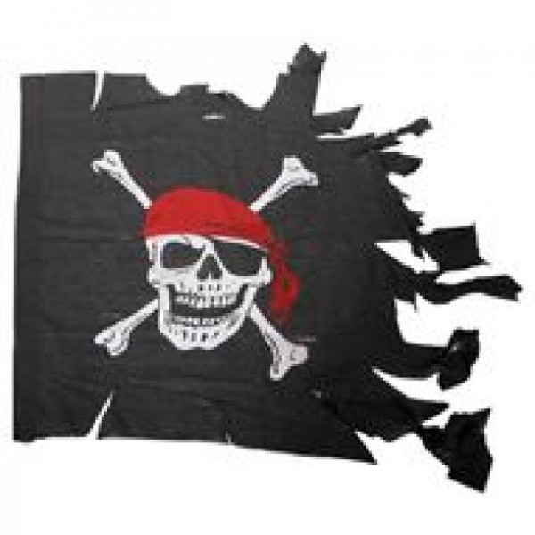 Vlag gehavend Red Pirate
