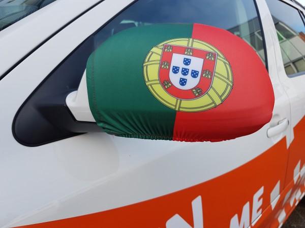 Autospiegel hoes Portugal | 2 stuks