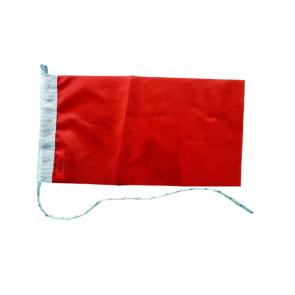 Rode vlag race vlaggen rood 30x45cm