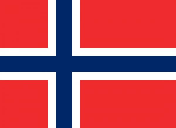 Tafelvlaggen Noorwegen 10x15cm | Noorse tafelvlag