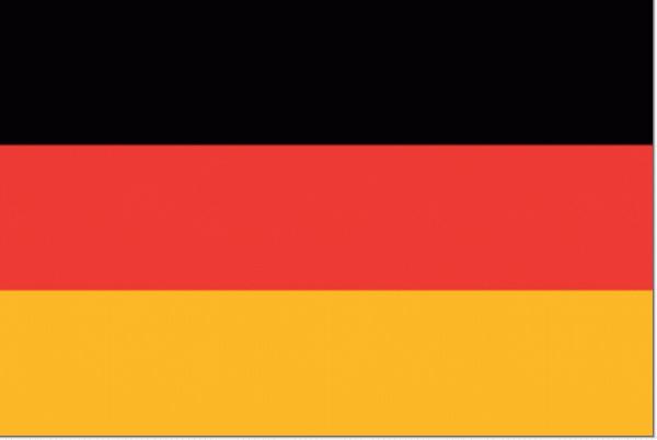 tafelvlag Duitsland 10x15cm Duits tafel vlaggetje