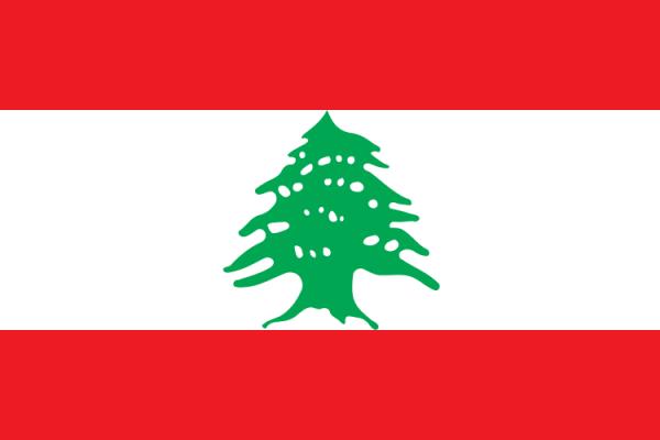 Libanese vlag | vlaggen Libanon 100x150cm gevelvlag
