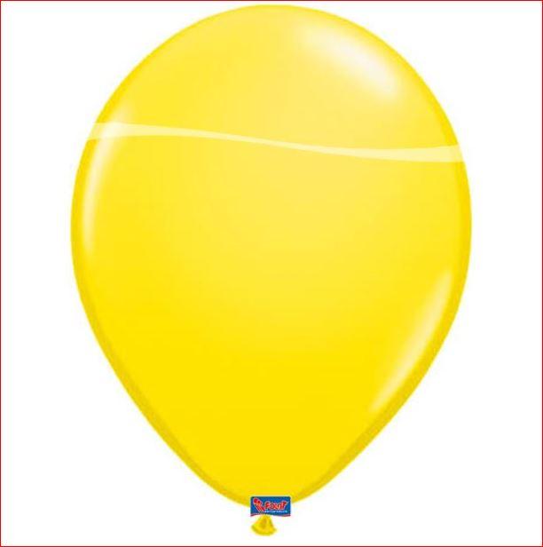 Gele Ballonnen 10 stuks 12 inch 30cm groot geel