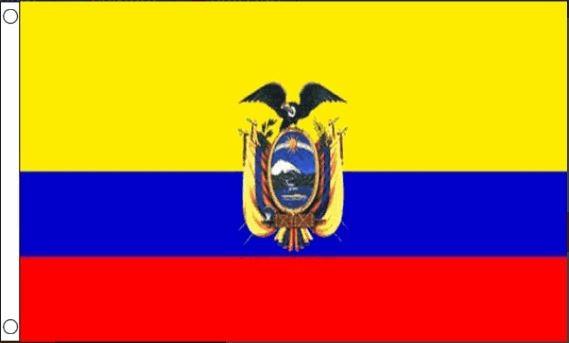 vlag Ecuador | Ecuadoriaanse vlaggen 90x150cm Best Value