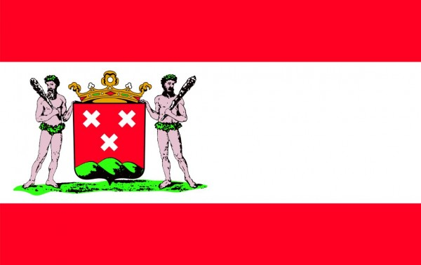 Vlag Bergen op Zoom 100x150 gevelvlag