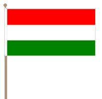 Zwaaivlag hongarije 30x45cm