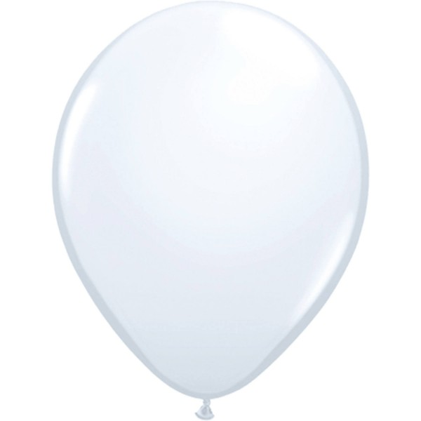 ballon wit 10 stuks 12 inch 30cm groot