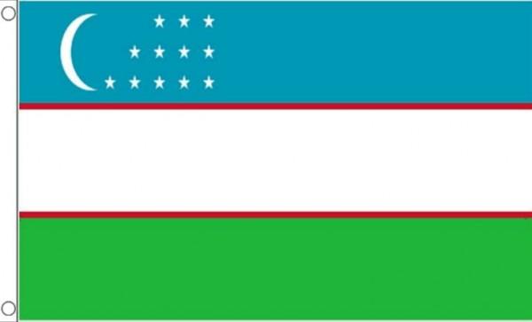 Vlag Oezbekistan 60x90cm