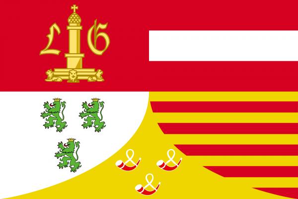 Grote vlag Luik
