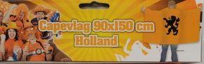 Oranje Capevlag Nederland Leeuw Oranje EK | WK en Koningsdag 150x90cm