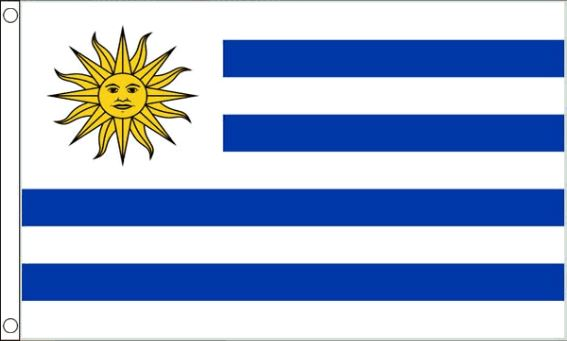 vlag Uruguay | Uruguayaanse vlaggen 90x150cm Best Value