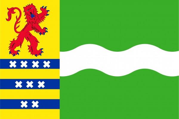 Grote vlag Nissewaard