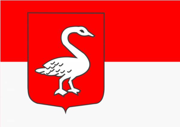 Vlag gemeente Huissen   Huissense vlaggen 100x150cm gemeentevlag
