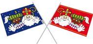 Sinterklaas zwaaivlaggen welkom Piet