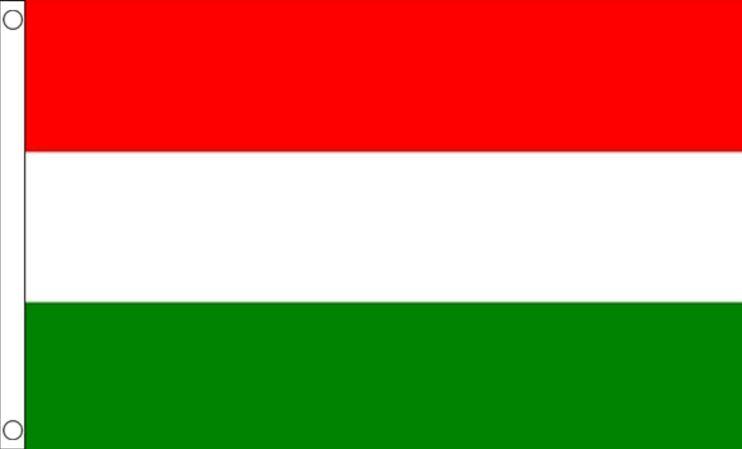 Hongarije vlag | vlaggen Hongaarse 90x150cm Best Value