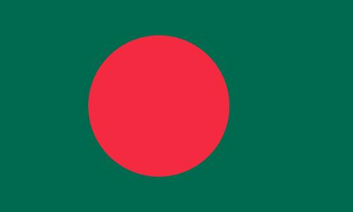 tafelvlaggen Bangladesh 10x15cm | Bengaalse tafelvlag