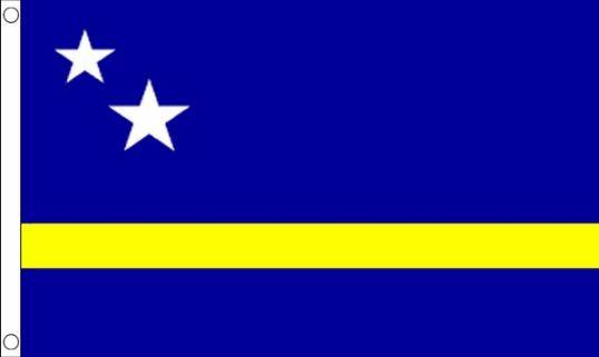 vlag Curaçao| Curaçaose vlaggen 90x150cm Best Value