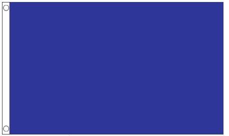 Blauwe vlag blauw 90x150cm Best Value