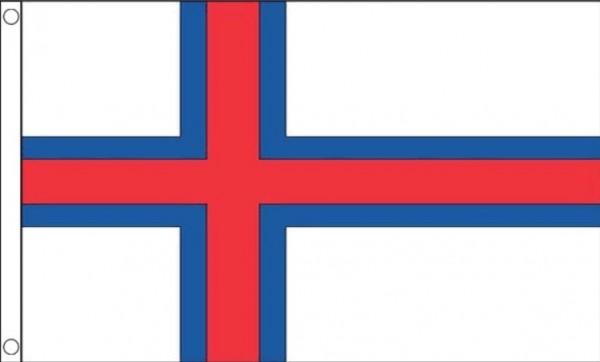 Vlag Faeroer Eilanden 90x150cm | Best Value